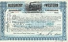 Allegheny and Western Railway Company