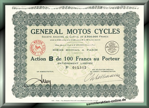 General Motos Cycles