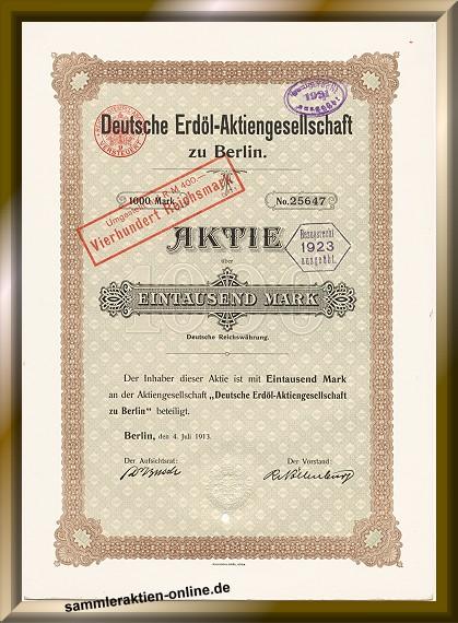 Deutsche Erdöl Aktiengesellschaft