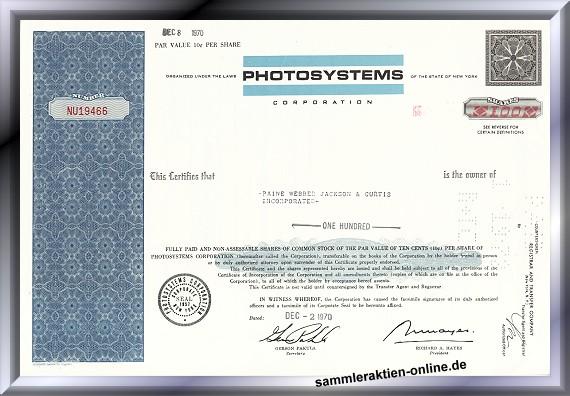 Photosystems Corporation