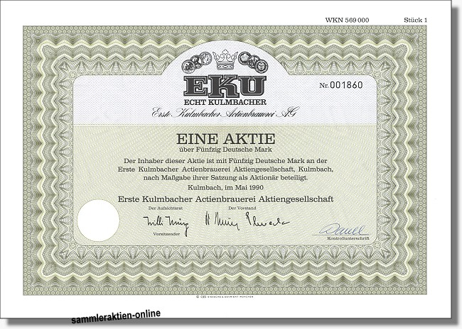 EKU - Erste Kulmbacher Actienbrauerei AG