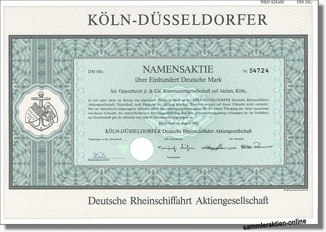 Köln-Düsseldorfer Deutsche Rheinschiffahrt Aktiengesellschaft