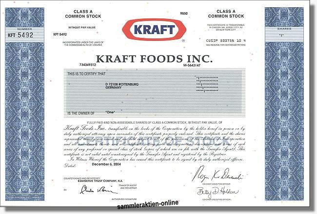 Kraft Foods Inc.