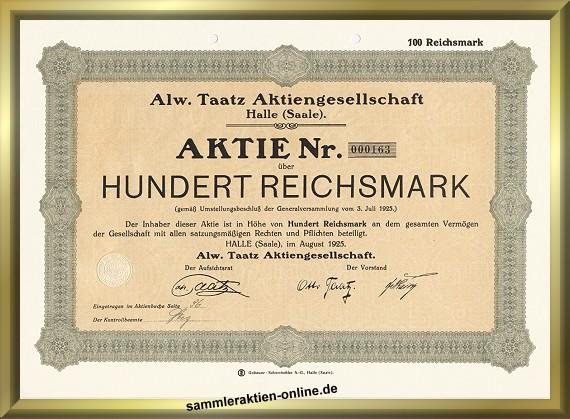 Alw. Taatz AG