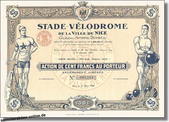 Stade-Vélodrome de la Ville de Nice