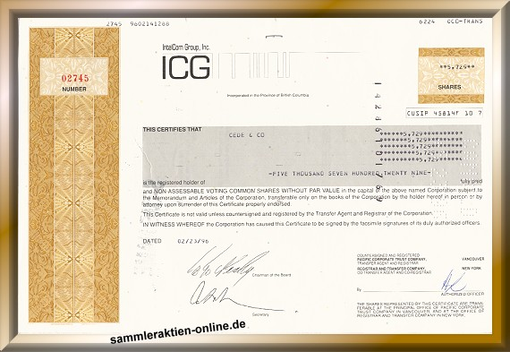ICG Communications, IntelCom Group Inc.