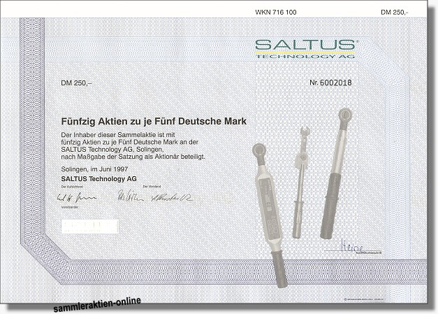 Saltus Technologie AG