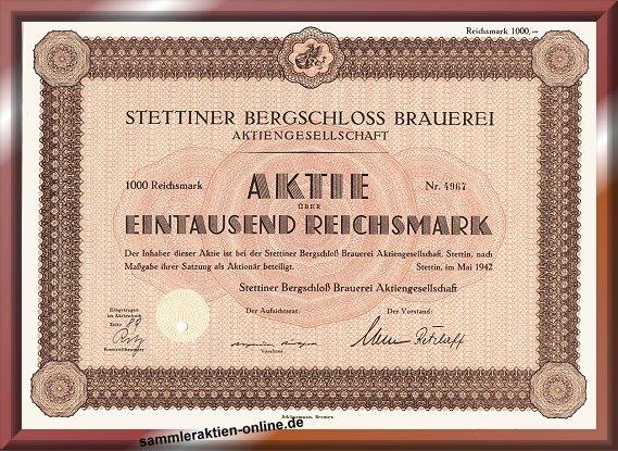 Stettiner Bergschloss-Brauerei AG