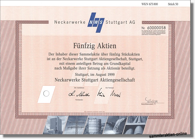 Neckarwerke Stuttgart AG NWS