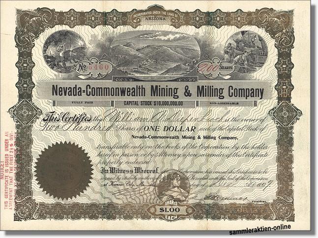 Nevada-Commonwealth Mining & Milling Company
