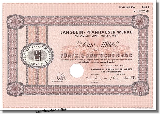 Langbein-Pfanhauser Werke AG