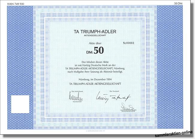 TA Triumph-Adler AG