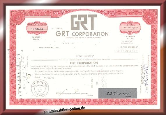 GRT Corporation