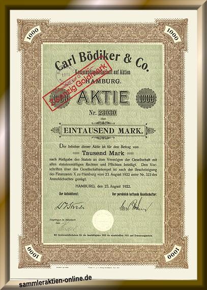 Carl Bödiker & Co.