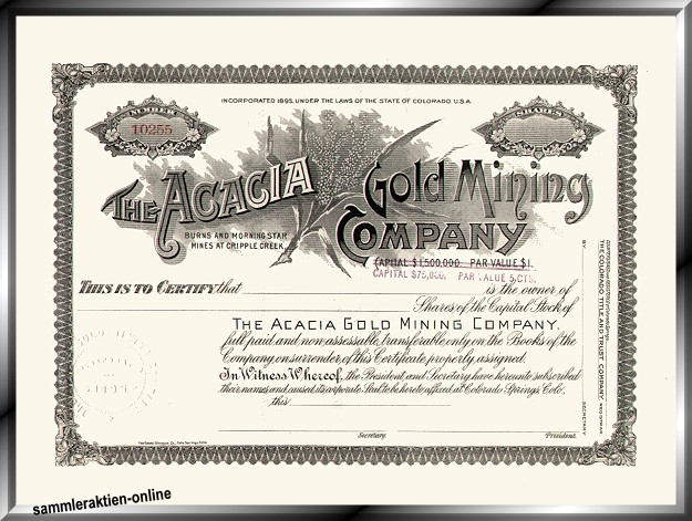 Acacia Gold Mining Company