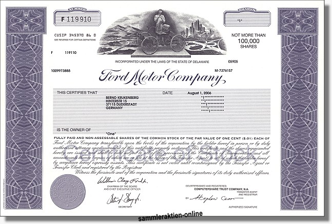 Ford Motor Company