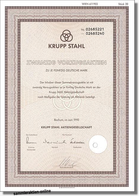 Krupp Stahl AG