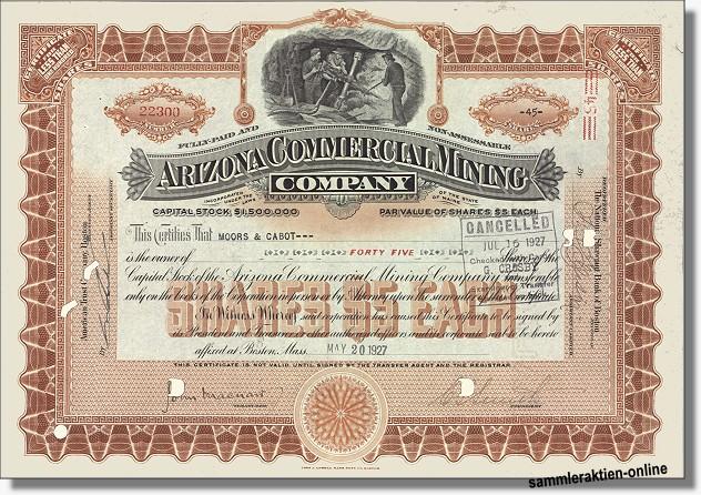 Arizona Commercial Mining Company