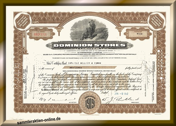 Dominion Stores Ltd.