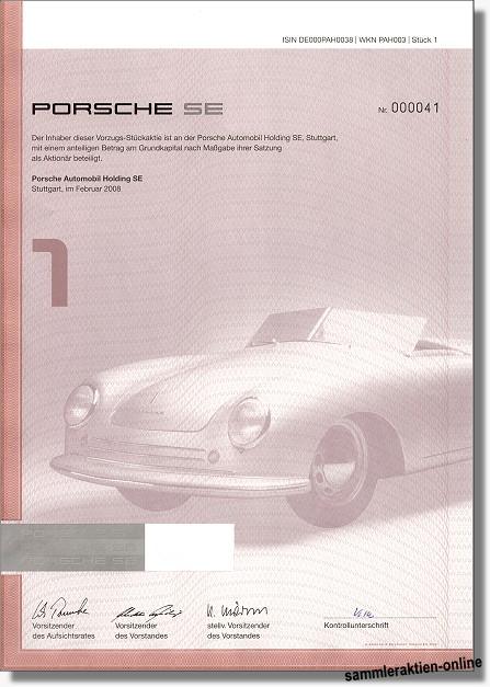 Porsche Aktien