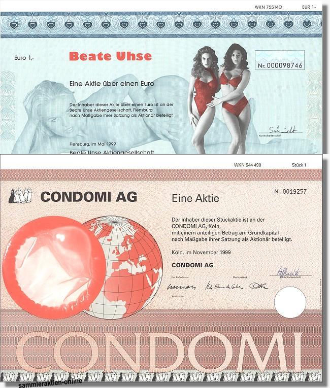 Erotik Set Beate Uhse und Condomi