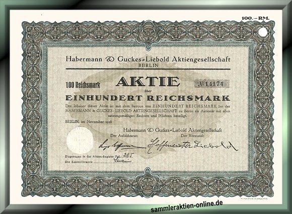 Habermann & Guckes-Liebold AG