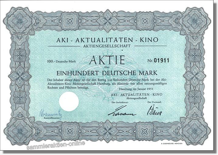AKI Aktualitäten-Kino AG