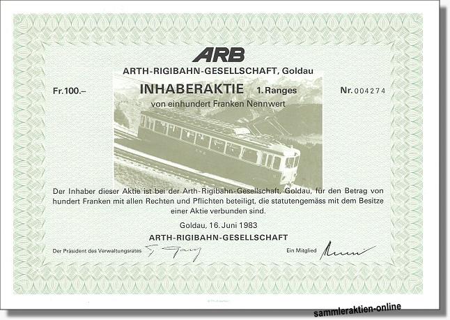Arth-Rigibahn Gesellschaft