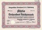 Bürgerliches Brauhaus AG Insterburg