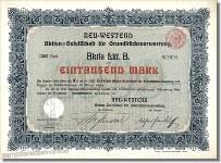 Neu Westend AG für Grundstücksverwertung