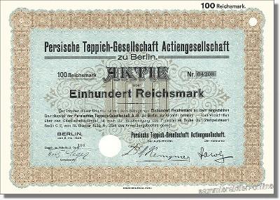 Persische Teppich-Gesellschaft AG