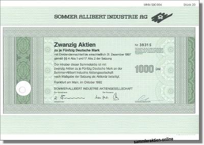 Sommer Allibert Industrie AG