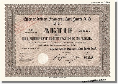 Essener Aktien-Brauerei Carl Funke AG