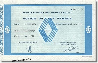 Renault - Régie nationale des usines Renault