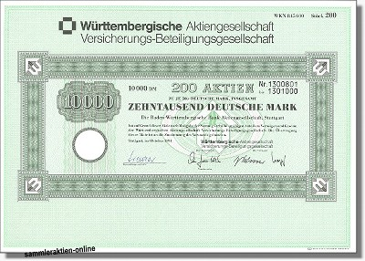 Württembergische AG Versicherungs-Beteiligungsgesellschaft