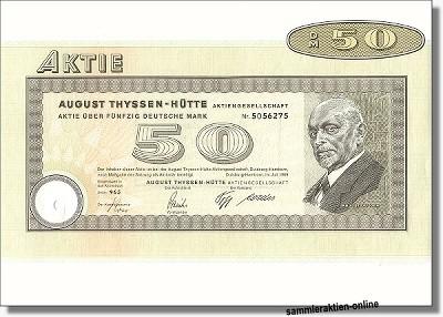 Thyssen - August Thyssen Hütte AG