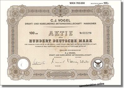 C. J. Vogel Draht- und Kabelwerke AG