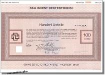 Fonds, Investmentanteile