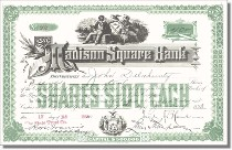 Madison Square Bank - Nachdruck