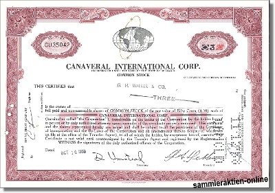 Canaveral International Corporation