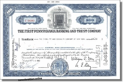 First Pennsylvania Banking and Trust Company