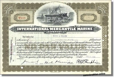 International Mercantile Marine - Titanic Aktie