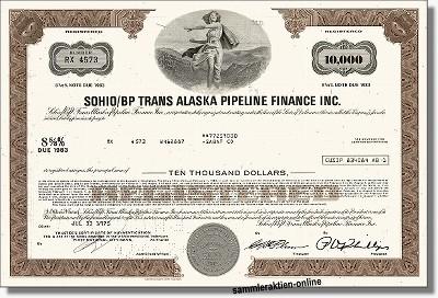Sohio BP Trans Alaska Pipline