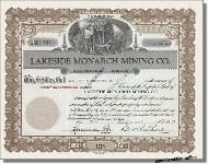 Lakeside Monarch Mining