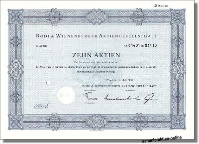Rodi & Wienenberger AG