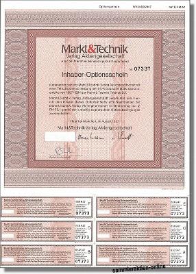 Markt & Technik Verlag