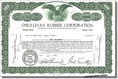 O' Sullivan Rubber Corporation