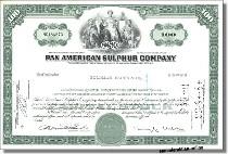 Pan American Sulphur Company