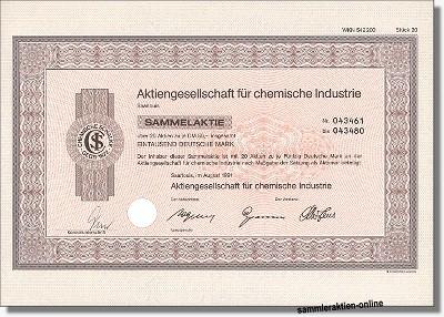 Aktiengesellschaft für chemische Industrie Schalke
