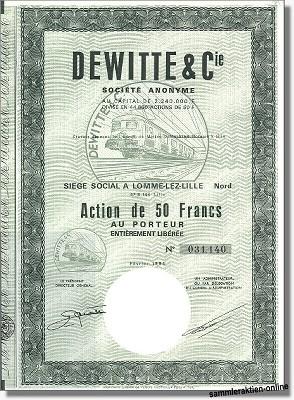 De Witte & Cie